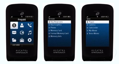 Tracfone Alcatel OneTouch A394C Screenshot