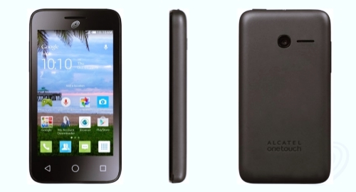 Tracfone Alcatel Pixi Eclipse Front Back Side