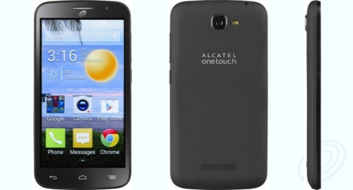 Tracfone Alcatel A564C front back side