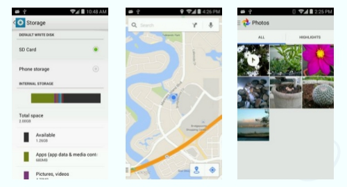 Tracfone Alcatel A564C screenshot