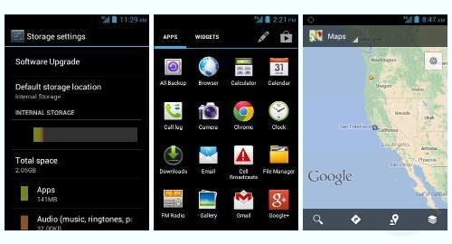 Tracfone Huawei Glory H868C Screenshot