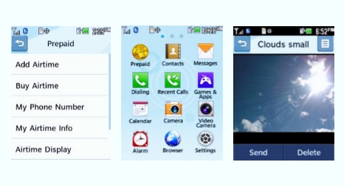 Tracfone LG 305C screenshot