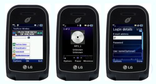 LG 441G Screenshoot
