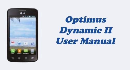 Tracfone LG Optimus Dynamic II (L39C) User Manual Guide