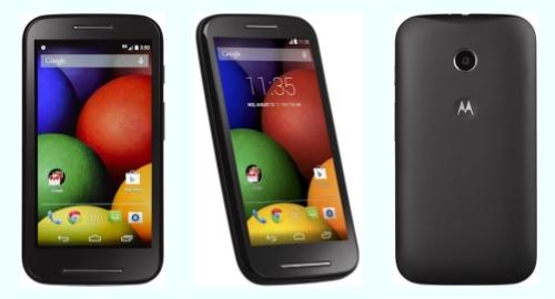 Tracfone Moto E XT830C front back side