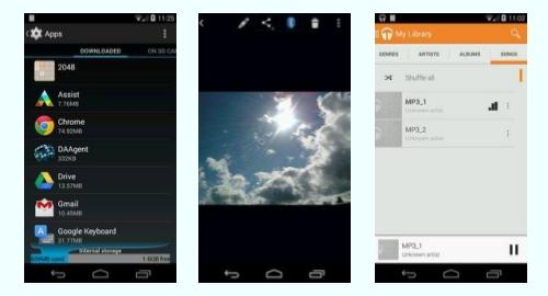 Tracfone Moto E XT830C screenshot