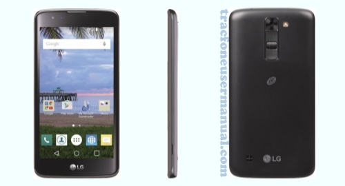 LG Treasure LTE L51AL Front back Side