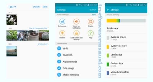 Tracfone Samsung Galaxy S6 S906 screenshot
