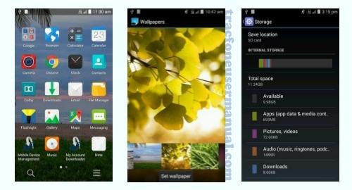 Trafone ZTE Lever LTE Z936VL screenshot