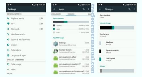 Tracfone ZTE ZMAX 2 Z955L screenshot