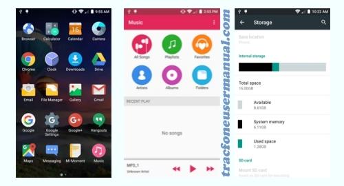 Tracfone ZTE Max Duo Z962BL / Z963VL screenshot