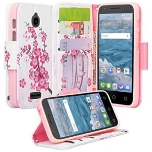 Alcatel PIXI Avion Wallet Case by Galaxy Wireless