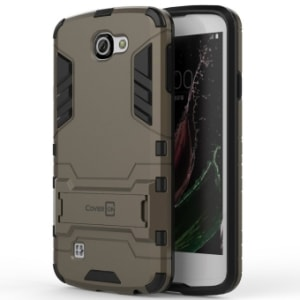 LG Rebel Hard Slim Hybrid Case by CoverON