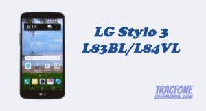 TracFone LG Stylo 3