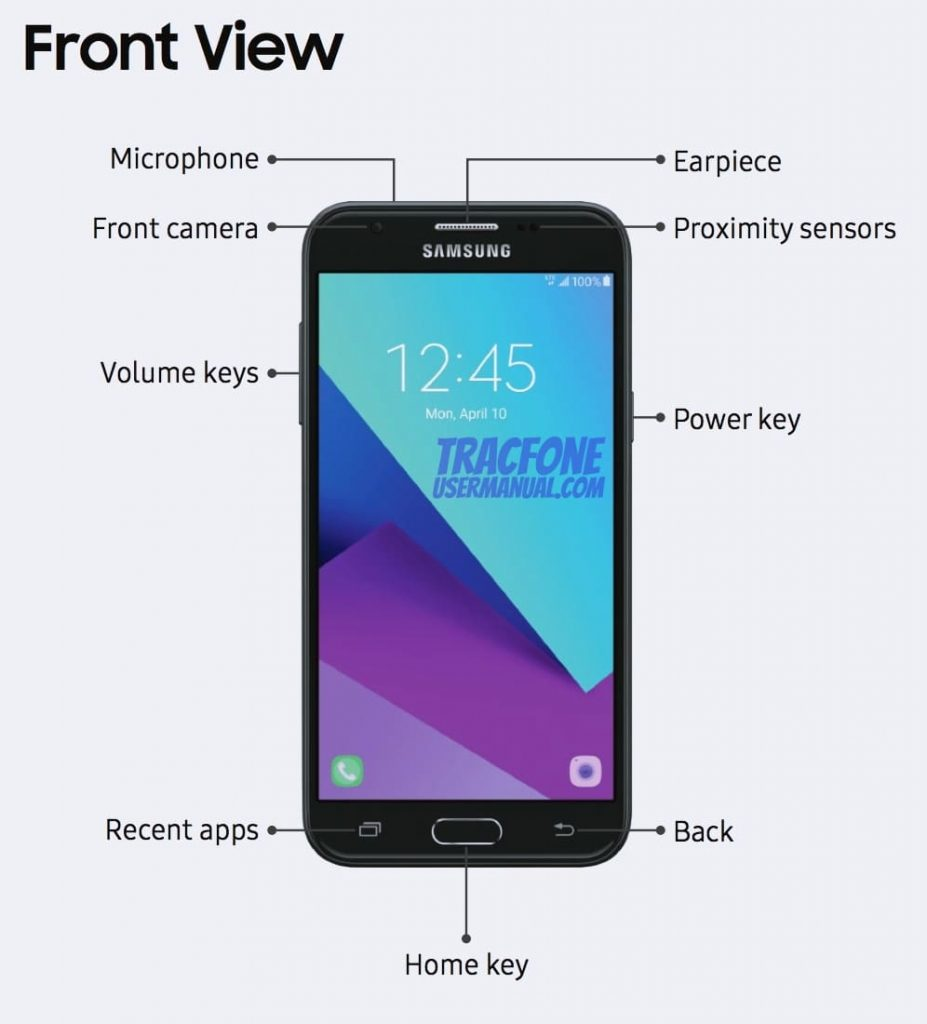 Galaxy Luna Pro Front View