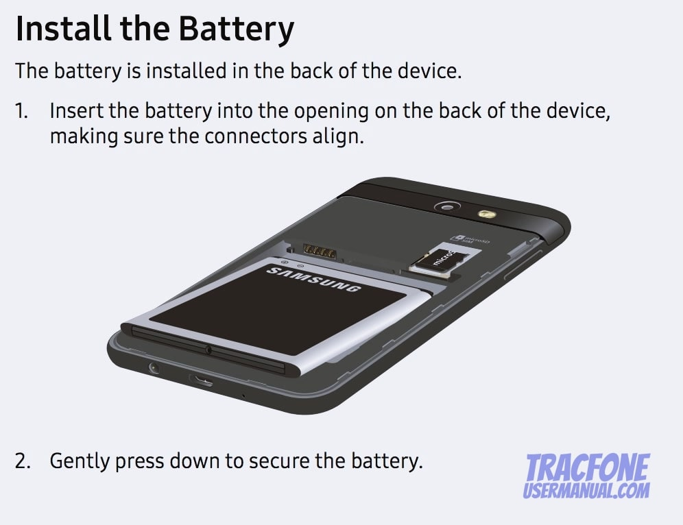 Galaxy Luna Pro Install Battery