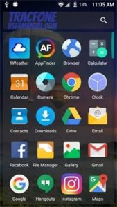 ZTE Majesty Pro App Drawer 1