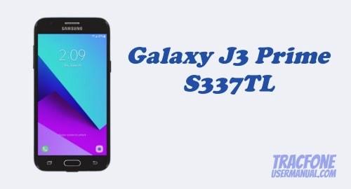 TracFone Samsung Galaxy J3 Prime S337TL User Manual