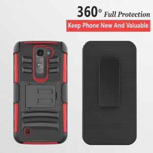LG K7 Combo Rugged Case by Circle