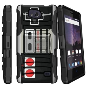 ZTE Majesty Pro Plus Hybrid Bumper Case by MiniTurtle