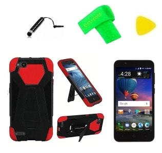 ZTE ZFive G T-Stand Hybrid Case by ExtremeCases