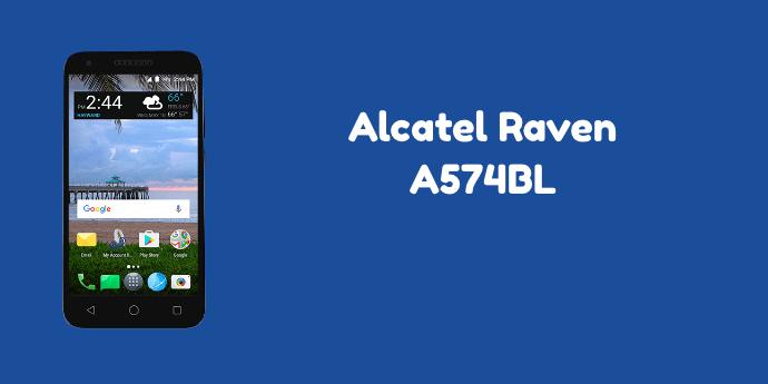 TracFone Alcatel Raven LTE A574Bl