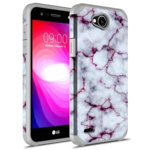 LG Fiesta 2 Silicone Skin Case by Rosebono