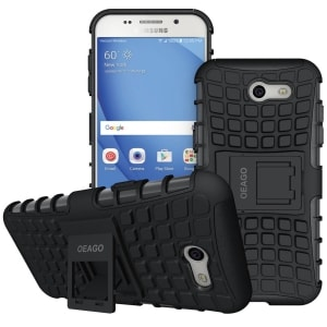 Samsung Galaxy J3 Prime Tough Rugged Case by OEAGO