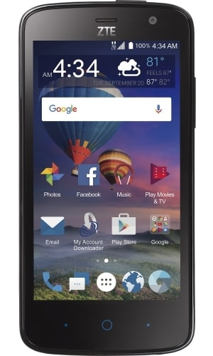 ZTE Majesty Pro Plus Front View 1