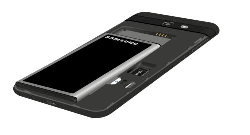 How to Insert Battery in Samsung Galaxy J7 Sky Pro