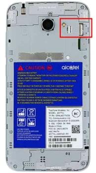 How to Insert SIM Card in Alcatel ZIP LTE