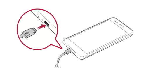 How to Charge the LG Rebel 3 LTE Battery