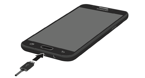 How to Charge the Samsung Galaxy J3 Luna Pro Battery