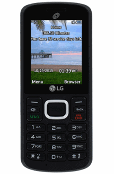 TracFone Balance on Feature Phone