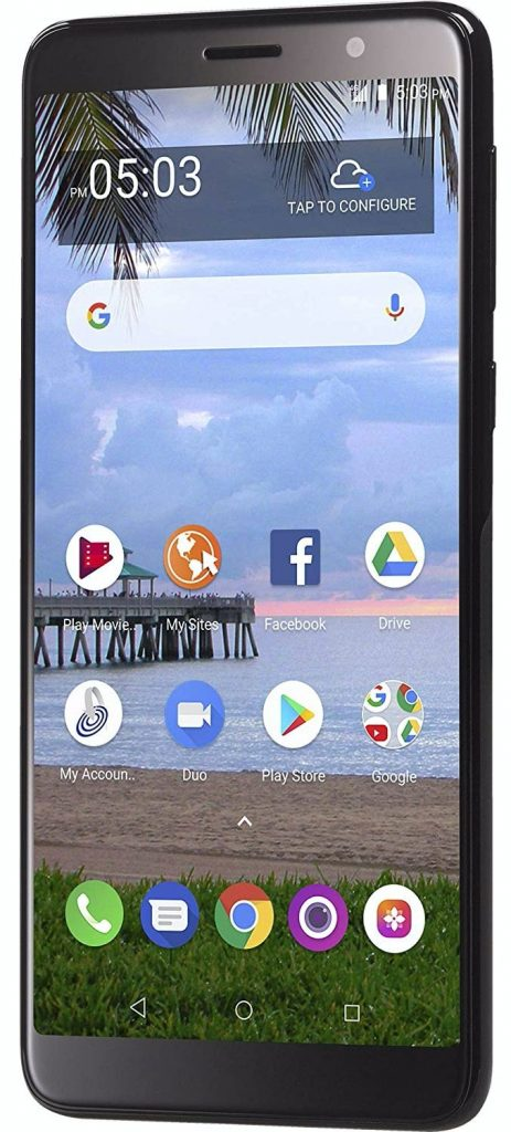 Alcatel TCL A1X Display