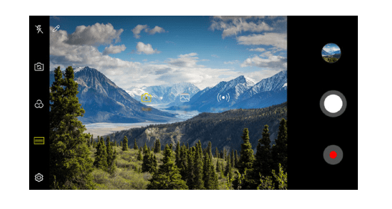 LG Journey LTE Camera