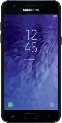 Samsung Galaxy J3 Orbit Front View