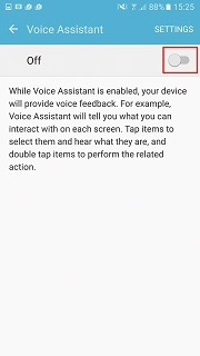enable and disable voice assistant samsung galaxy part 3
