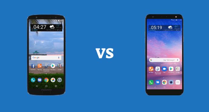 LG G6 VS LG SOLO Comparison