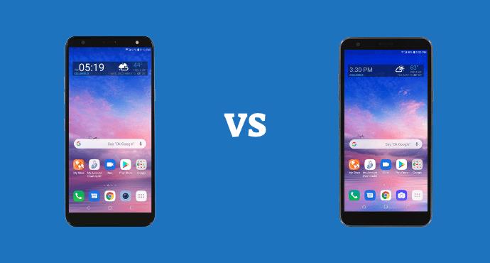 LG Solo vs LG Journey Specs Comparison