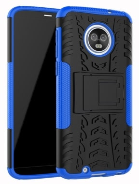 Moto G6 Dual Layer Case by Yiakeng