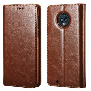 Moto G6 Vegan Leather Case by icarercase