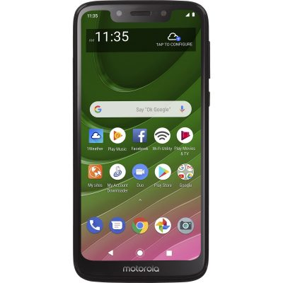 Moto G7 Optimo Front View