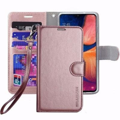 Premium PU Leather Wallet Flip Case by ERAGLOW