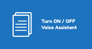 How to Turn ON / OFF Voice Assistant on Samsung Galaxy Phone
