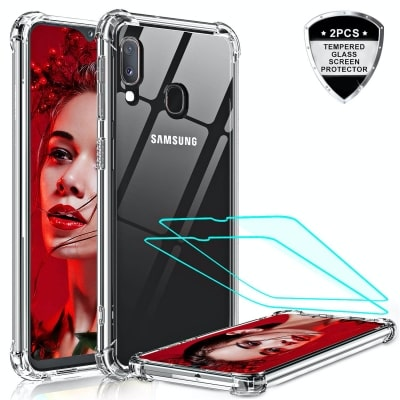 Silicone Crystal Clear Case for Galaxy A20