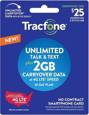 Tracfone unlimited card