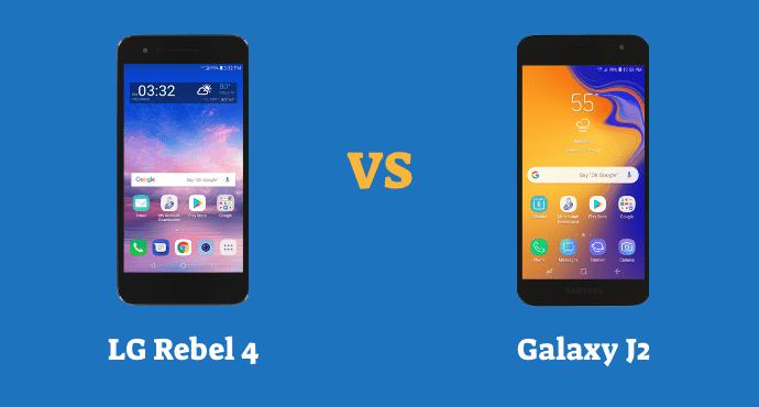 LG Rebel 4 LTE vs Samsung Galaxy J2