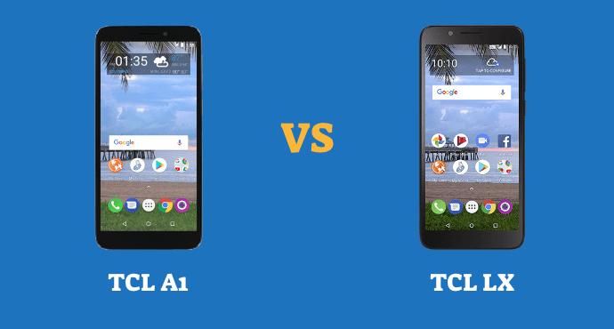 TCL A1 vs TCL LX