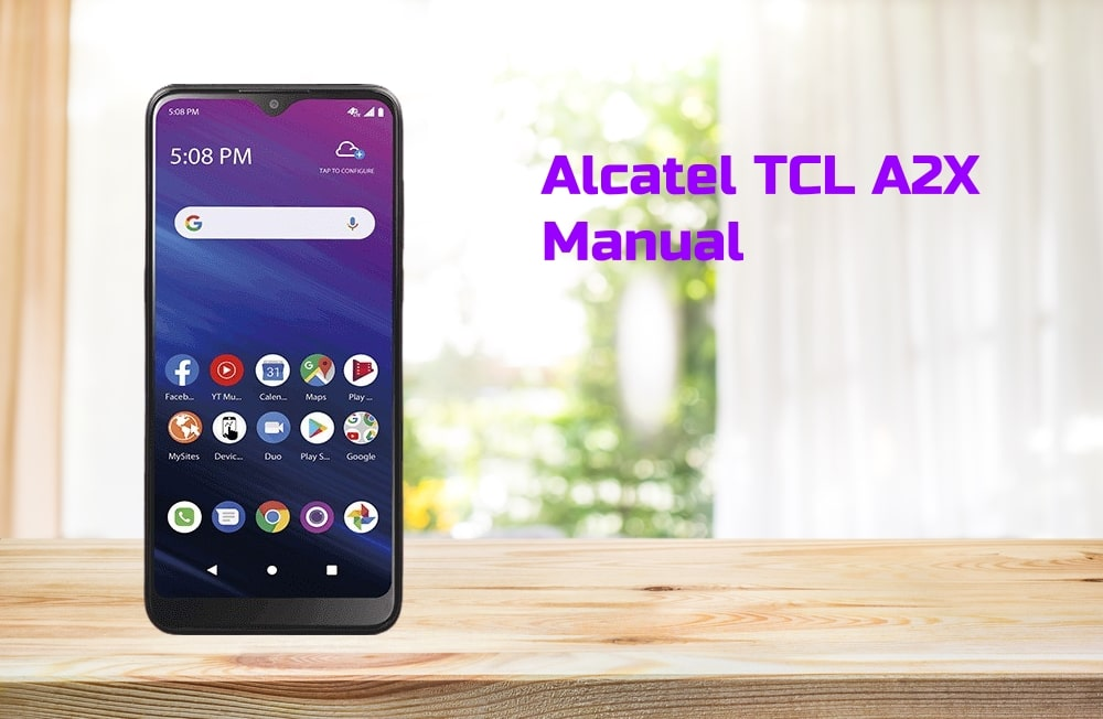 Alcatel TCL A2X Manual Tracfone